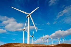 Китай строит самую крупную ветряную электростанцию в стране