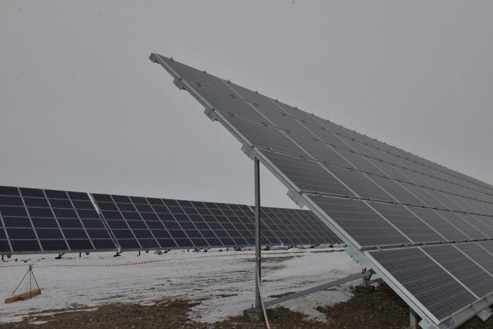 Абаканская солнечная электростанция. Фото Александра Колбасова, Газета Хакасия