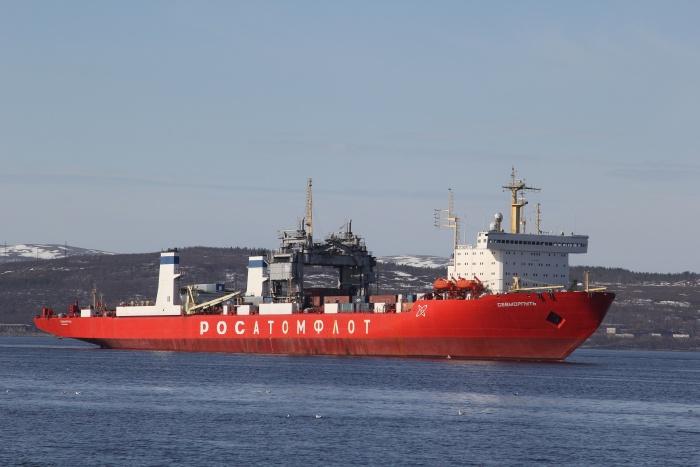 Атомный лихтеровоз-контейнеровоз Севморпуть