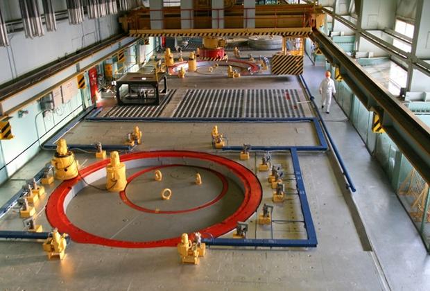 Центральный зал Билибинской АЭС