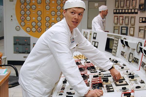 Пульт управления Билибинской АЭС