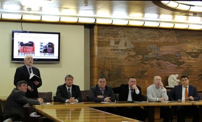 Выездное заседание Общественного совета по вопросам безопасного использования атомной энергии в Мурманской области на борту атомного ледокола Ленин