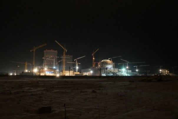 Вид на ЛАЭС-2, фото Алексея Дудкова