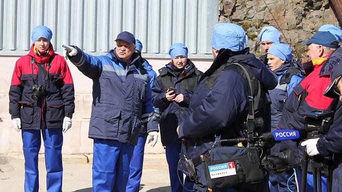 В Гремихе состоялась операция по вывозу ОЯТ