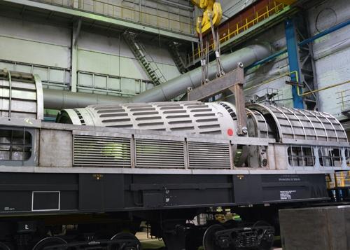 ТУК-109Т - контейнер для транспортировки ОЯТ реакторов типа РБМК-1000