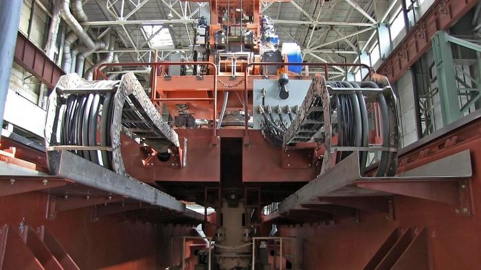 Перегрузочная машина для второго энергоблока Ленинградской АЭС-2