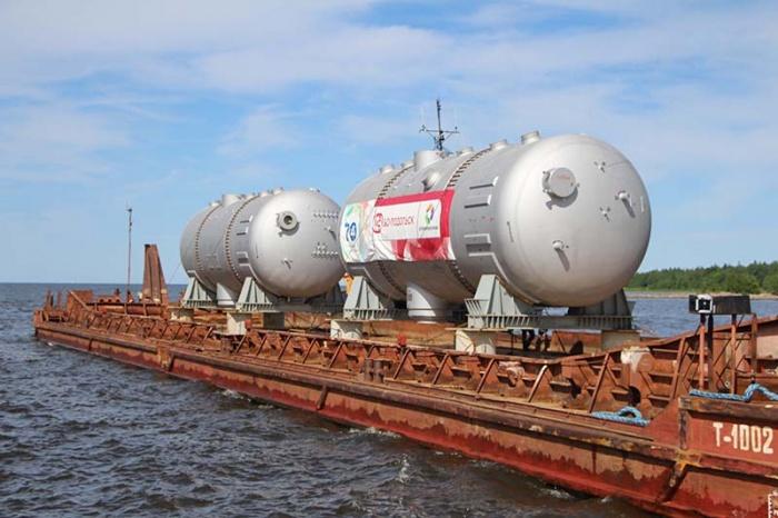 На ЛАЭС-2 прибыли первые парогенераторы для второго энергоблока