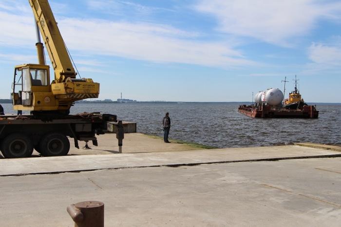 На Ленинградскую АЭС-2 доставили все четыре парогенератора