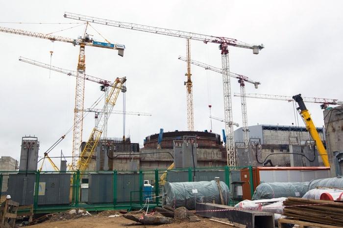 Стройплощадка Ленинградской АЭС-2