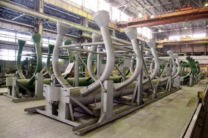 Коллектор пара парогенератора ПГВ-1000МКП для ЛАЭС-2