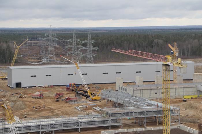 На ЛАЭС-2 началась подготовка к монтажу оборудования КРУЭ 330 кВ