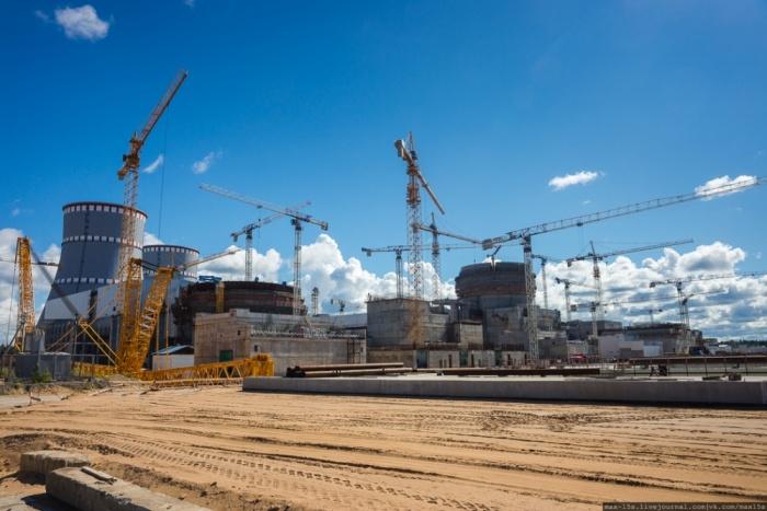 Стройплощадка ЛАЭС-2