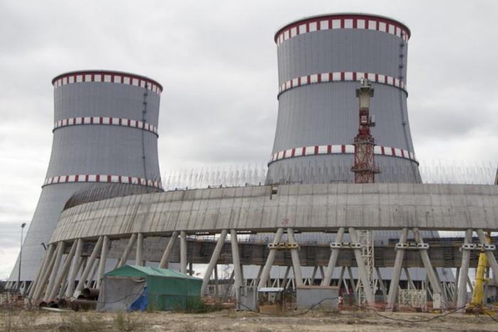Градирни Ленинградской АЭС-2