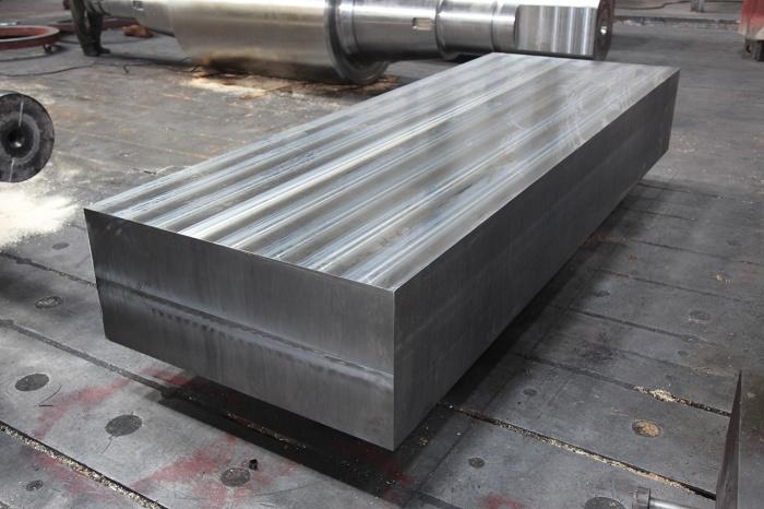 Заготовка плиты производства Энергомашспецсталь