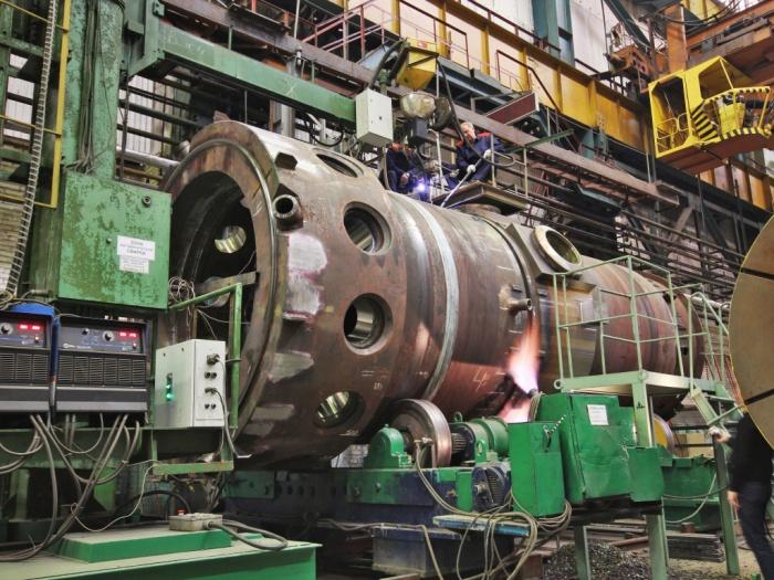 ЗиО-Подольск завершил сборку корпуса второго реактора РИТМ-200