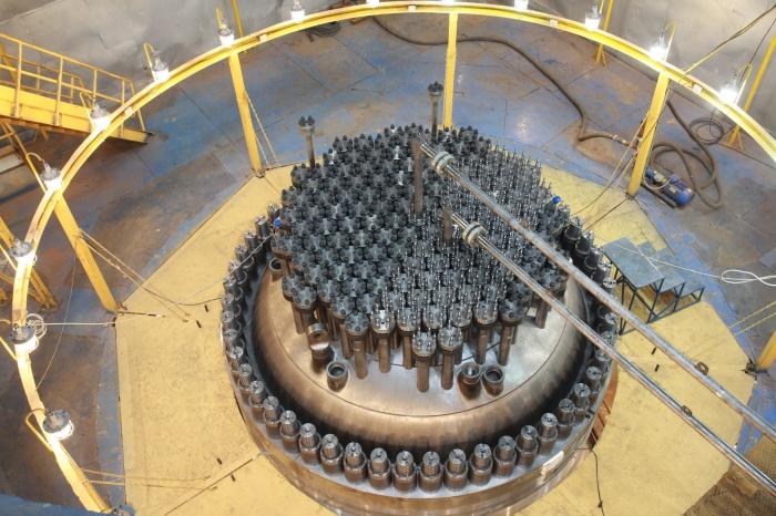 Крышка реактора ВВЭР-1200 для Белорусской АЭС
