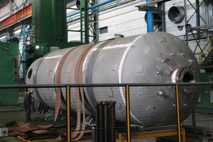 Гидроёмкость САОЗ для первого блока Белорусской АЭС