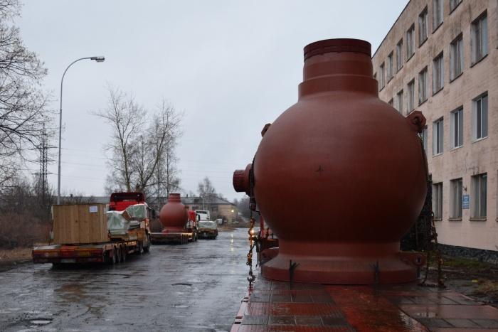 Корпуса главных циркуляционных насосов Петрозаводскмаша для Белорусской АЭС