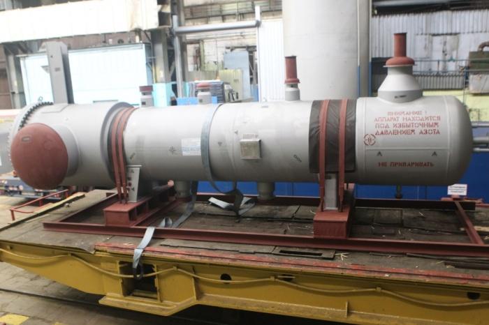 Холодильник технологического газа Е-1101 производства ЗиО-Подольск