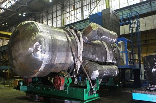 Интегрированный корпус второго реактора силовой установки РИТМ-200 нового ледокола Арктика