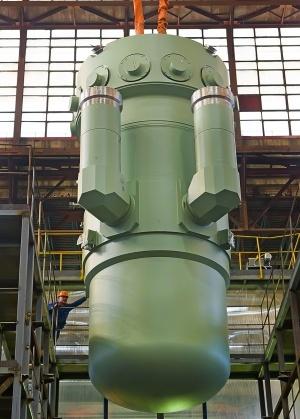 Реактор установки РИТМ-200 для головного ледокола нового поколения Арктика