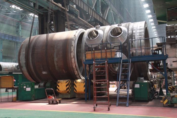 Корпус реактора для второго блока Белорусской АЭС
