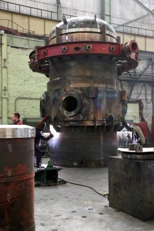 Корпус первого реактора установки РИТМ-200 для нового ледокола Сибирь
