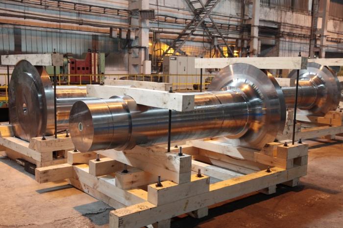 Валы роторов для ветроэнергетических установок производства ЭМСС