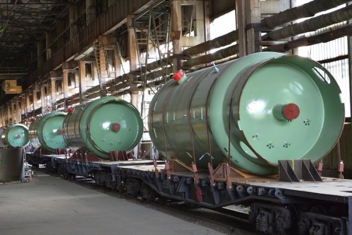 Ёмкости САОЗ производства Петрозаводскмаш для первого энергоблока Белорусской АЭС