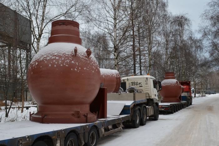 Комплект корпусов насосов для второго энергоблока Белорусской АЭС